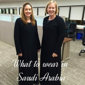 What to wear as a woman in Saudi
