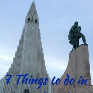 Iceland: 7 Things to do in Reykjavik