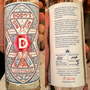 Dodds gin pop up