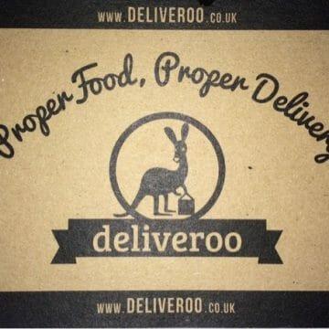 Al Desko lunch with Deliveroo