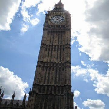 Climbing Big Ben!