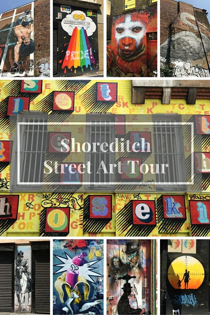 Shoreditch Station: Shoreditch Street Art Walking Tour