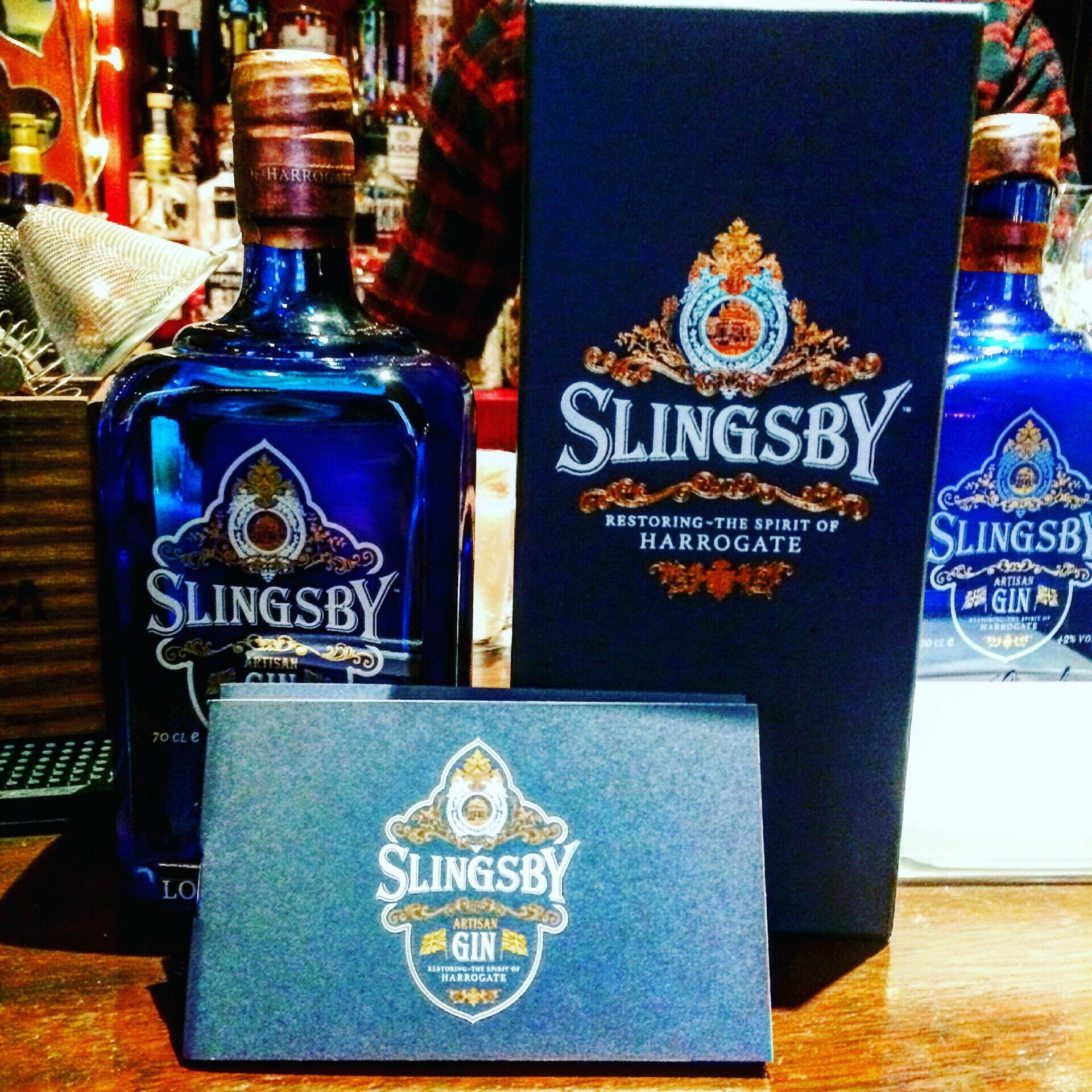 Slingsby Gin Tasting on What's Katie Doing? blog
