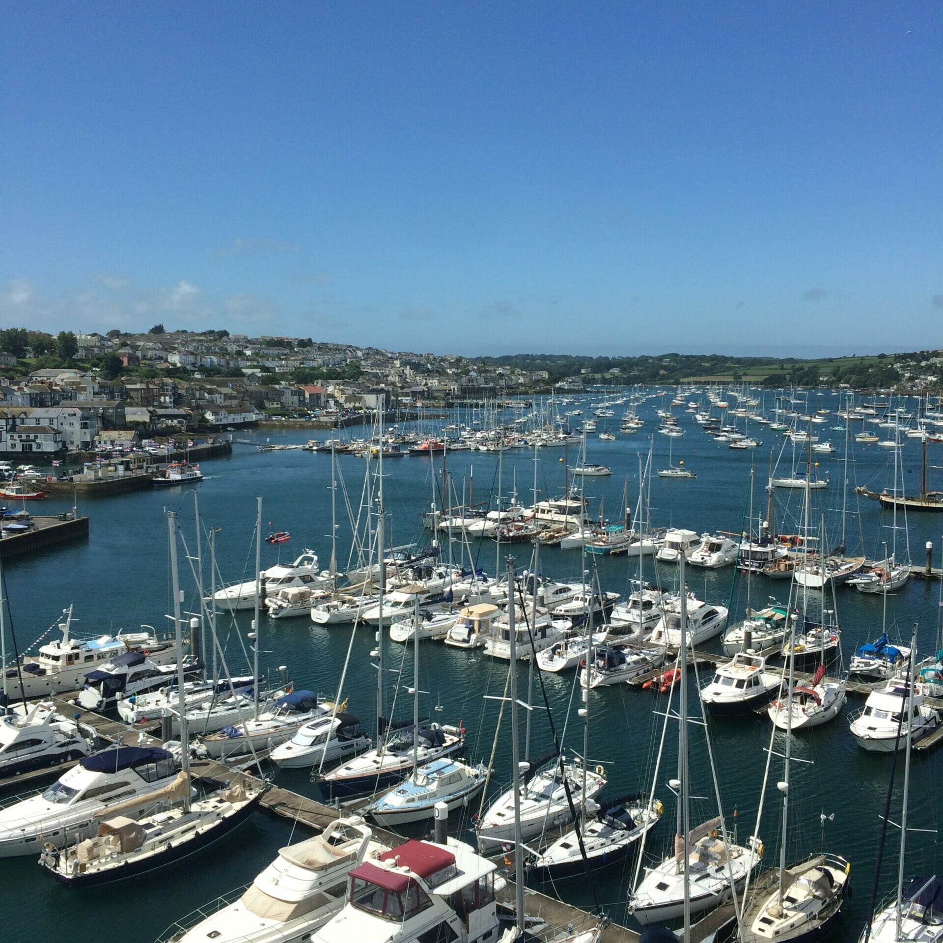 View from the maritime museum Falmouth - What's Katie Doing? Blog