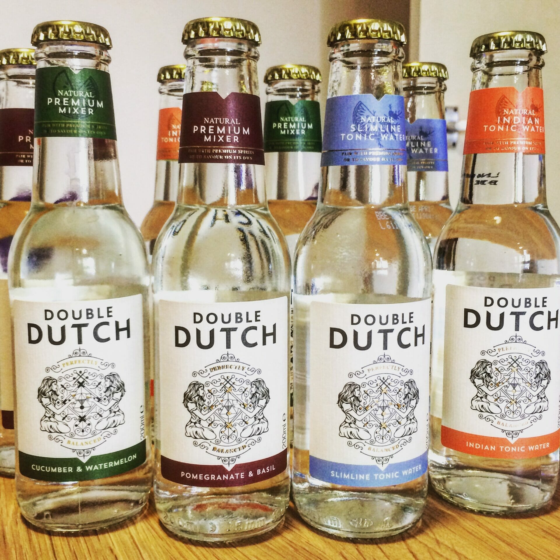 Double Dutch tonics on What's Katie Doing? blog