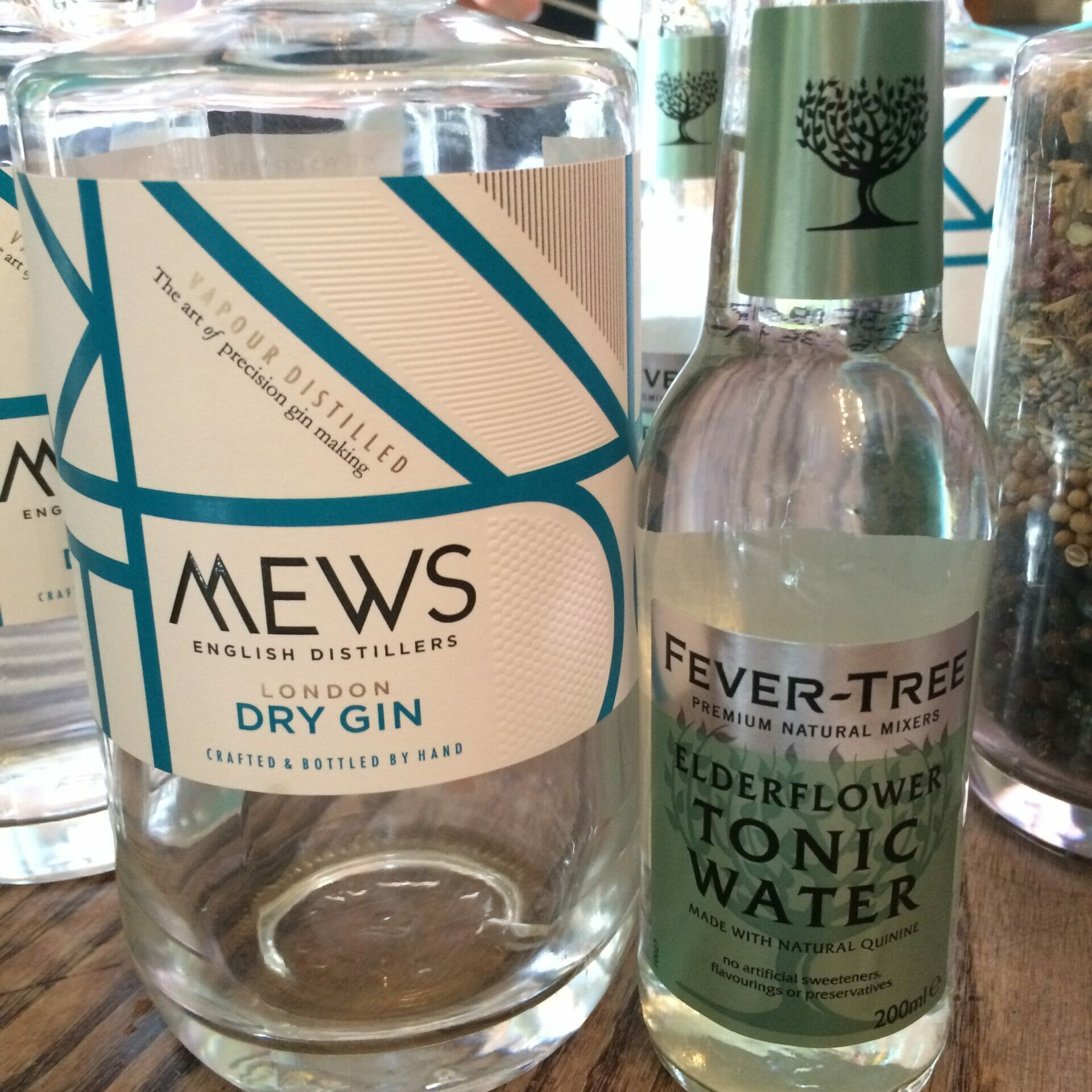 Mews and Elderflower tonic on What's Katie Doing? blog