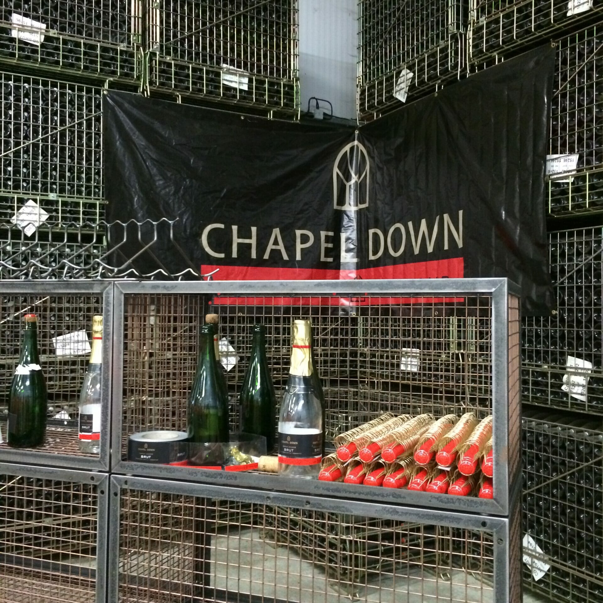 Chapel Down wine tasting on What's Katie Doing? blog