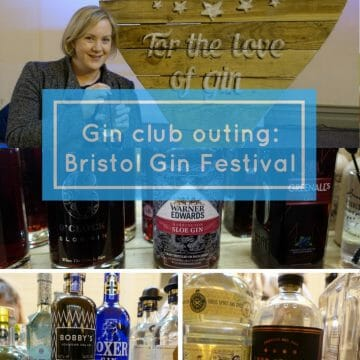 Gin Club outing to Bristol gin festival