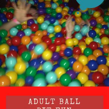 Grown up ball pit fun @ BallieBallerson