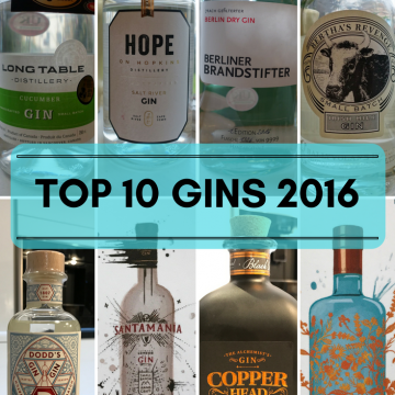 Top gins of 2016