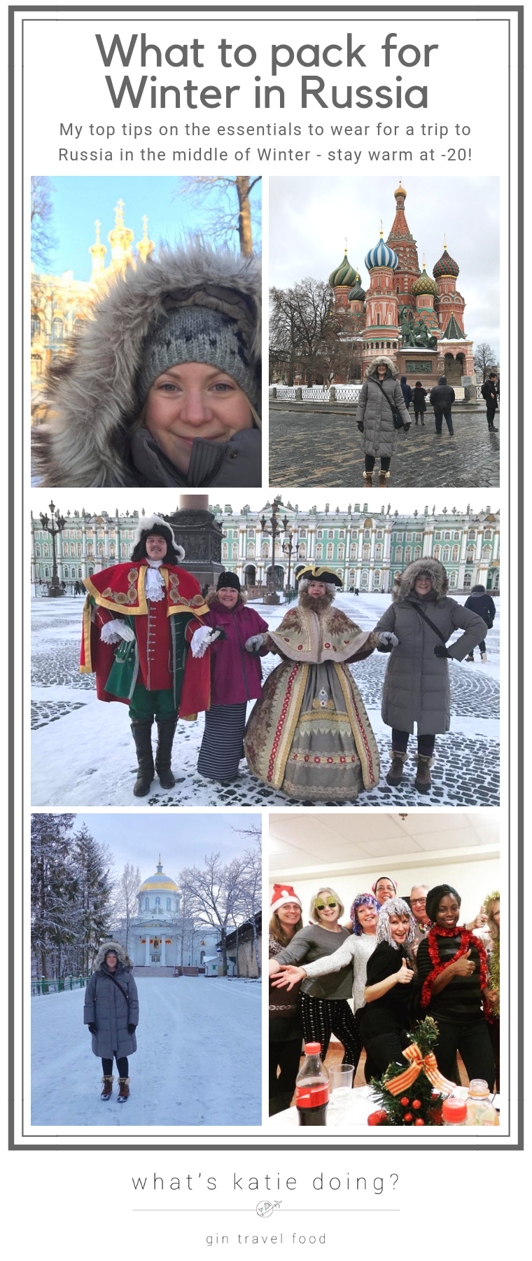 What to pack for Winter in Russia - all my top tips to stay warm at -20!