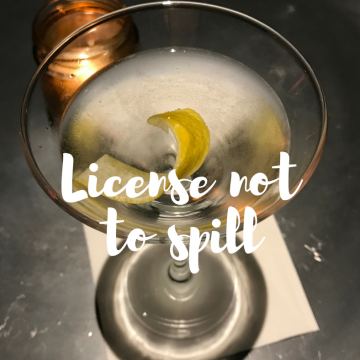 License not to spill: in search of the original Vesper martini