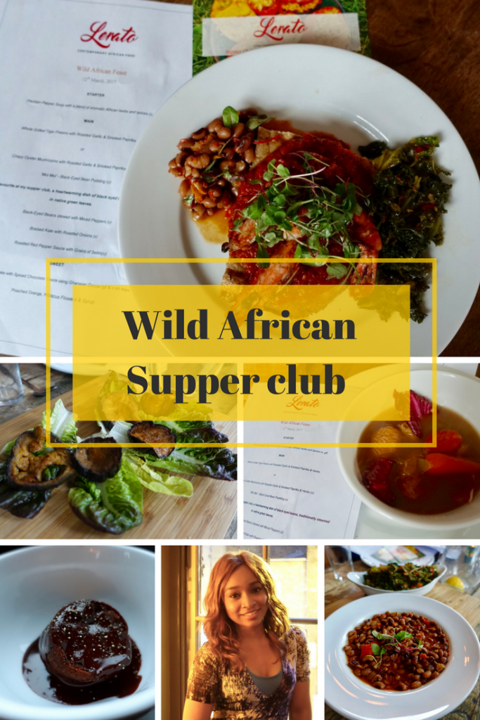 African supper club with Lerato & WeWiFo on What's Katie Doing? blog