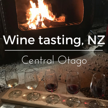 Wine tasting in Central Otago, New Zealand