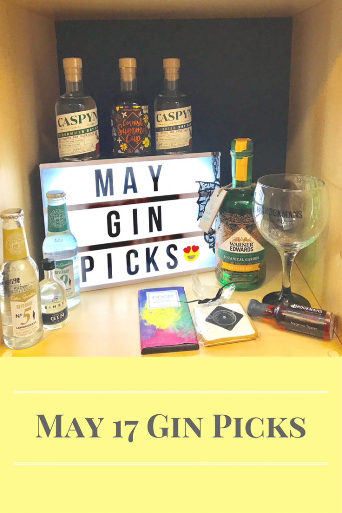 May 17 Gin Picks on What's Katie Doing? blog