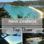 Top Three: New Zealand on What's Katie Doing? blog