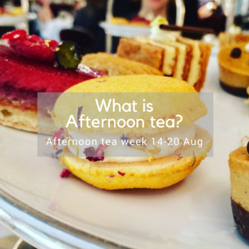 What is afternoon tea?