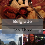 Top Three in Belgrade on What's Katie Doing? blog