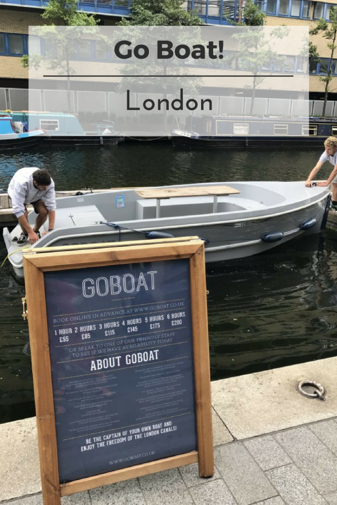 Go Boat London on What's Katie Doing? blog