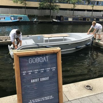 Go boat in London