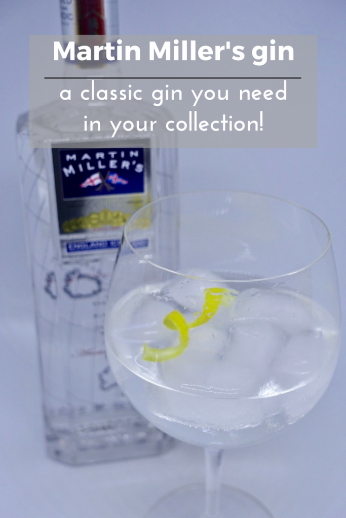 Martin Miller's gin - a classic gin you need in your collection on What's Katie Doing?