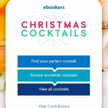 Christmas cocktails with Ebookers