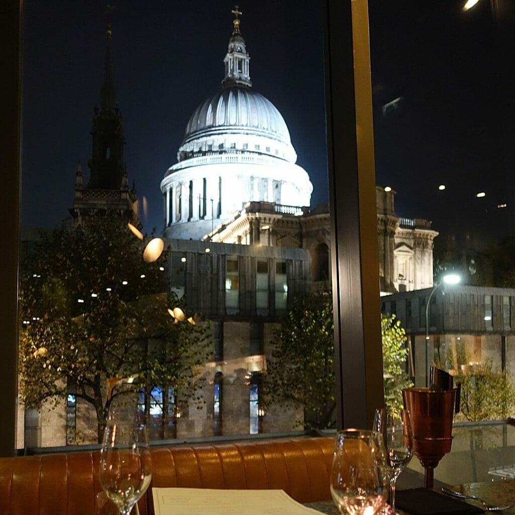 Barbecoa St Paul's restaurant review on What's Katie Doing? blog