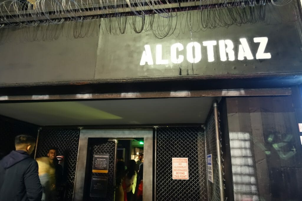 Alcotraz Bar Brick Lane on What's Katie Doing? blog