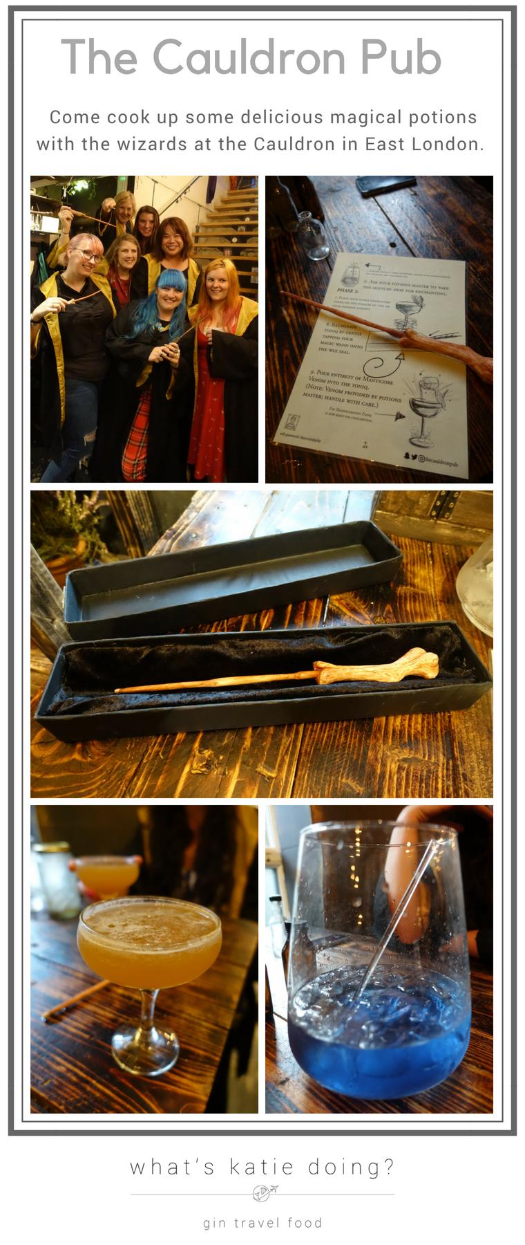 The Cauldron Pub magical potion making