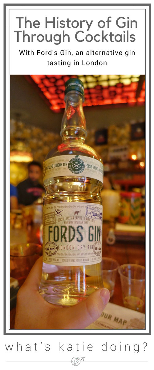 The History of Gin Through Cocktails with Ford's Gin