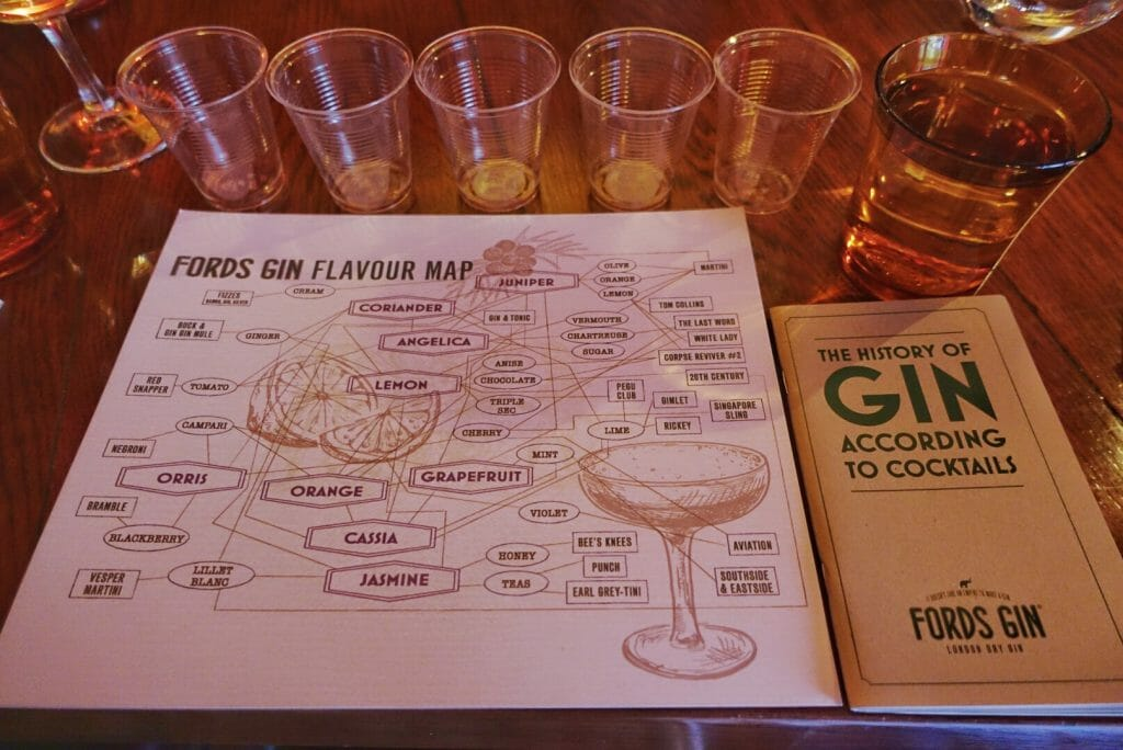 A closer view of the flavour map