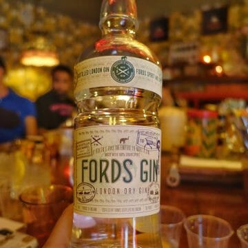 Ford's Gin @ Opium