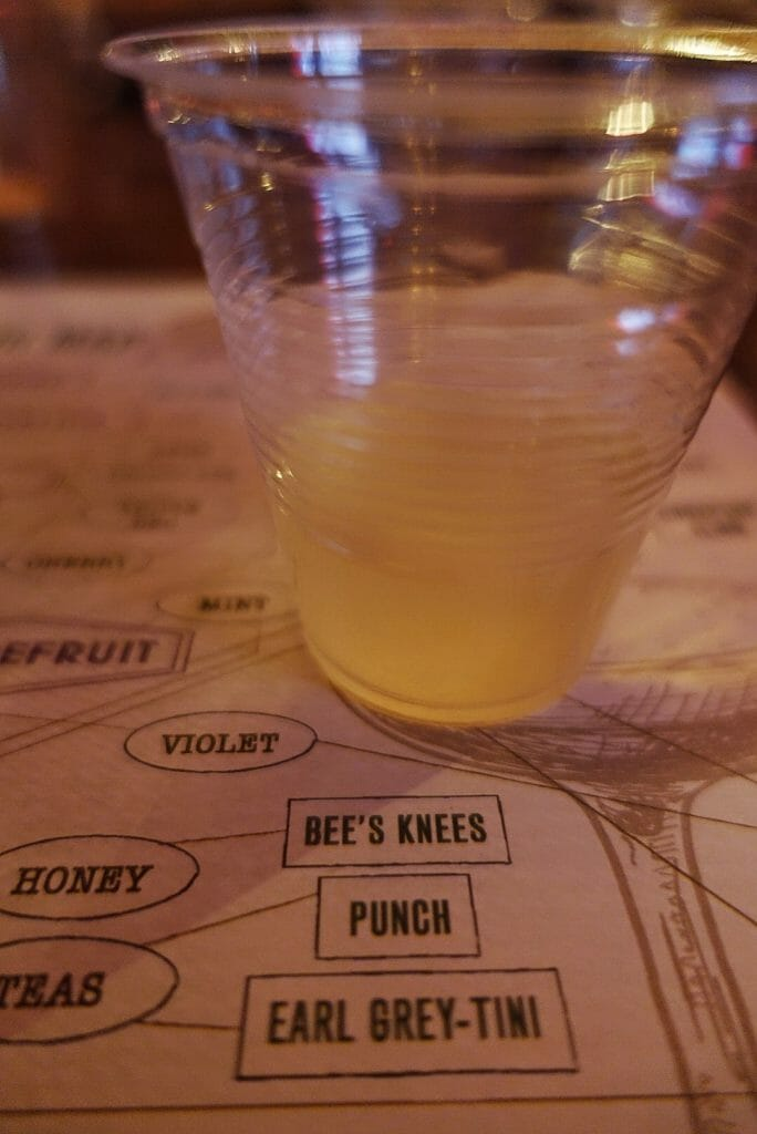 Bee's Knees on the Flavour map - guess what? One of the botanicals is honey!