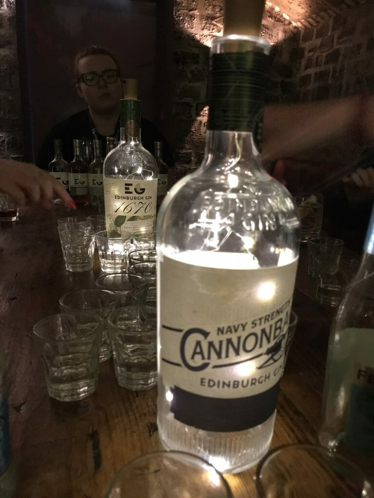 Cannonball gin is Edinburgh gin's Navy Strength