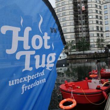 HotTug – the floating hot tub