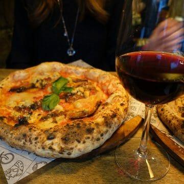 Vegan Pizza at Purezza Camden Town
