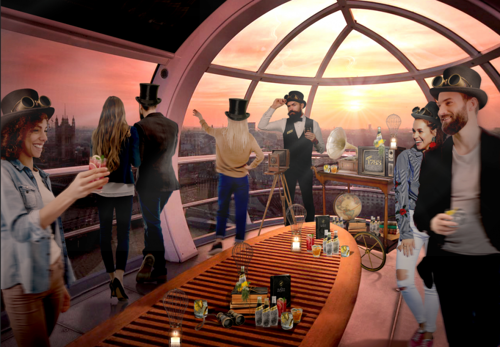 Schweppes Flavour Experience at the London Eye for London Cocktail Week 2018