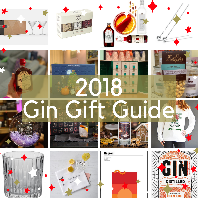 2018 Gin Gift Guide on What's Katie Doing? blog