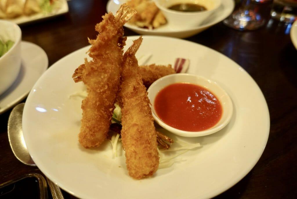 Ebi Katsu (deep fried prawns) at Tamashii