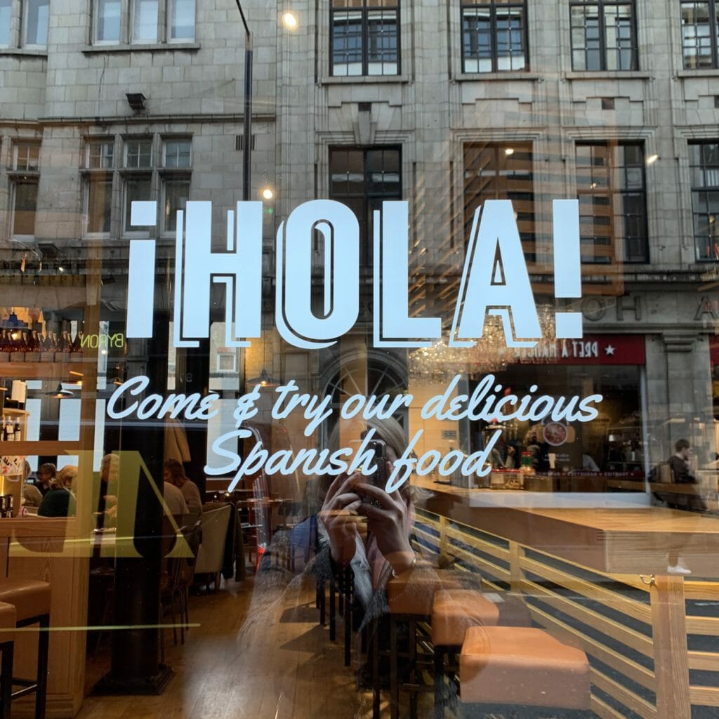 Hola! Welcome to Las Banderas Spanish Brunch
