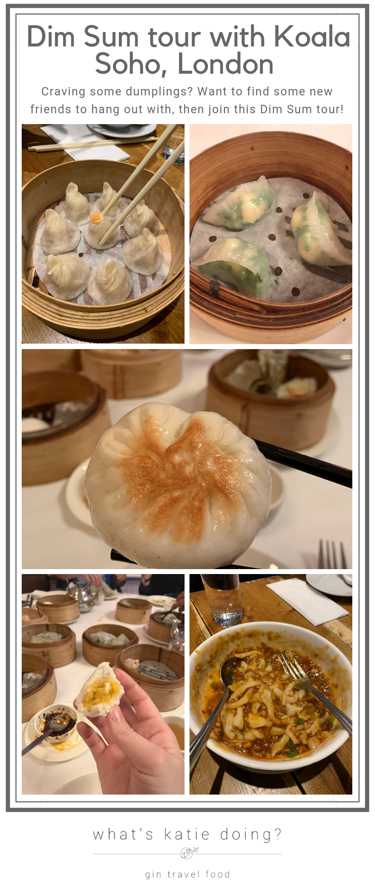 London Dim Sum tour with Koala