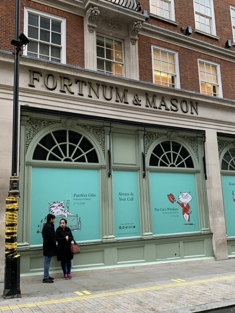 Fortum & Mason on the London Cheese Crawl