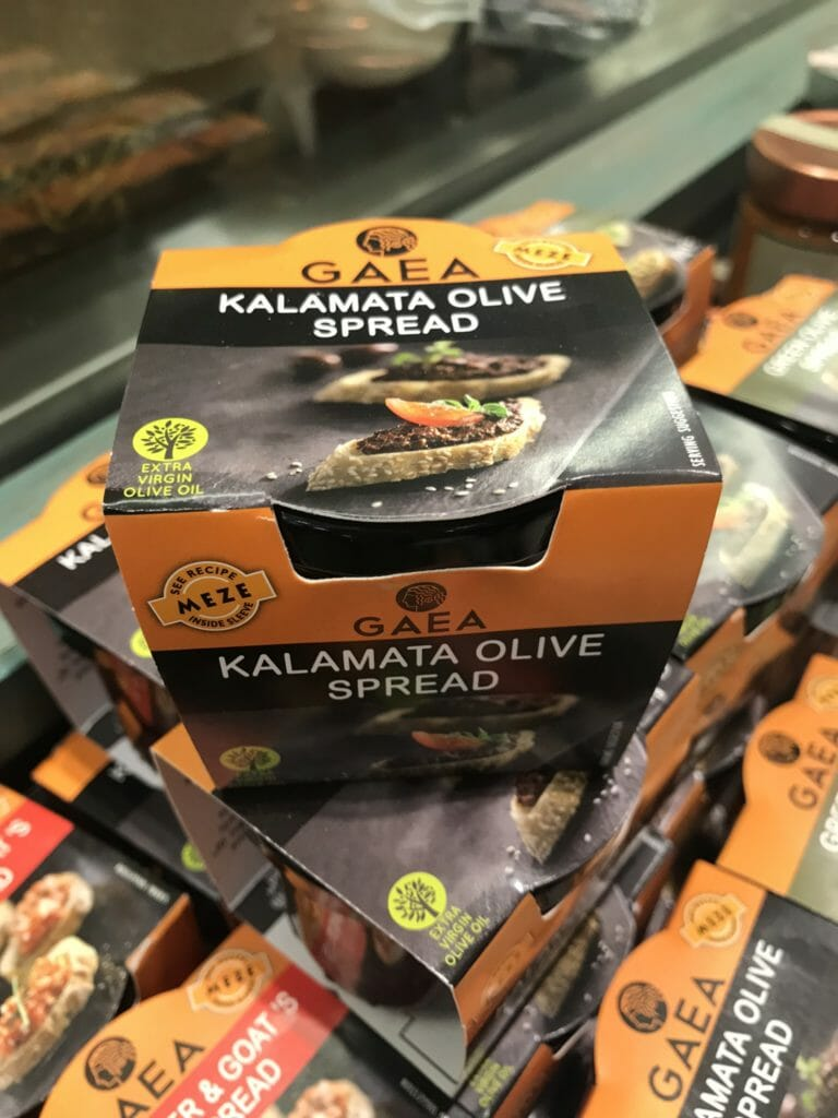Greek Kalamata Olive Spread
