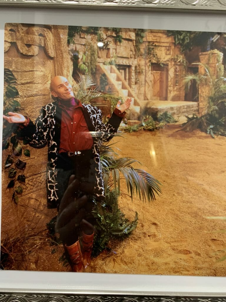 Photo of Richard O'Brien from the original Crystal Maze TV series in the Aztec Zone