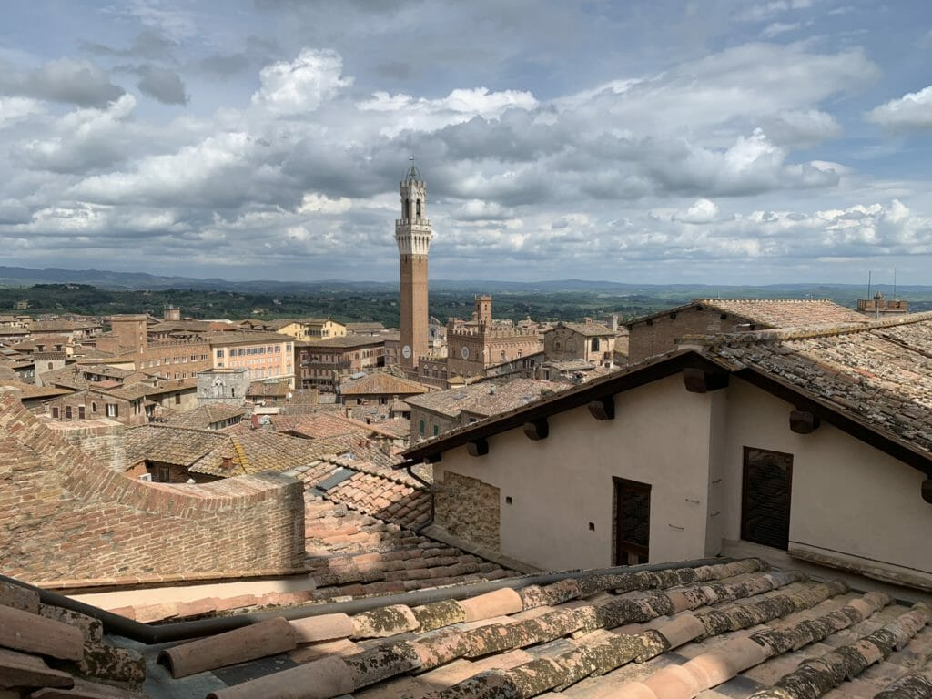 Rooftops of Siena