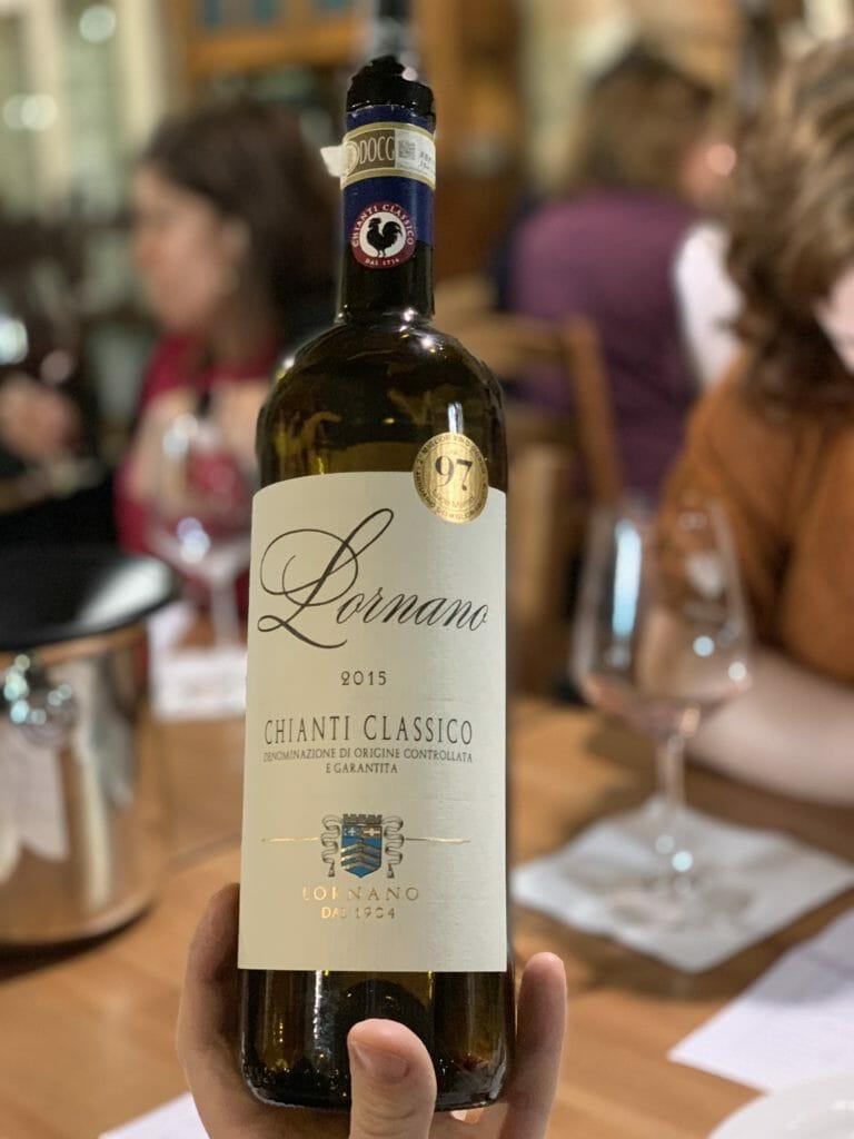 Lornano Chianti Classico 2015 bottle