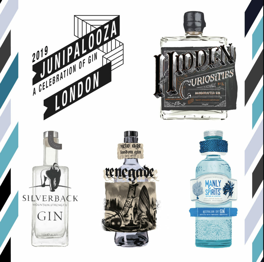 Junipalooza 2019 top 5 gins you must visit
