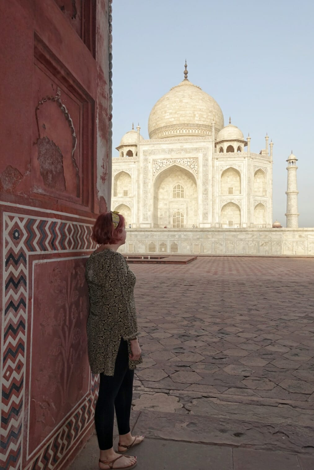 What to wear as a woman in India - visiting the Taj Mahal