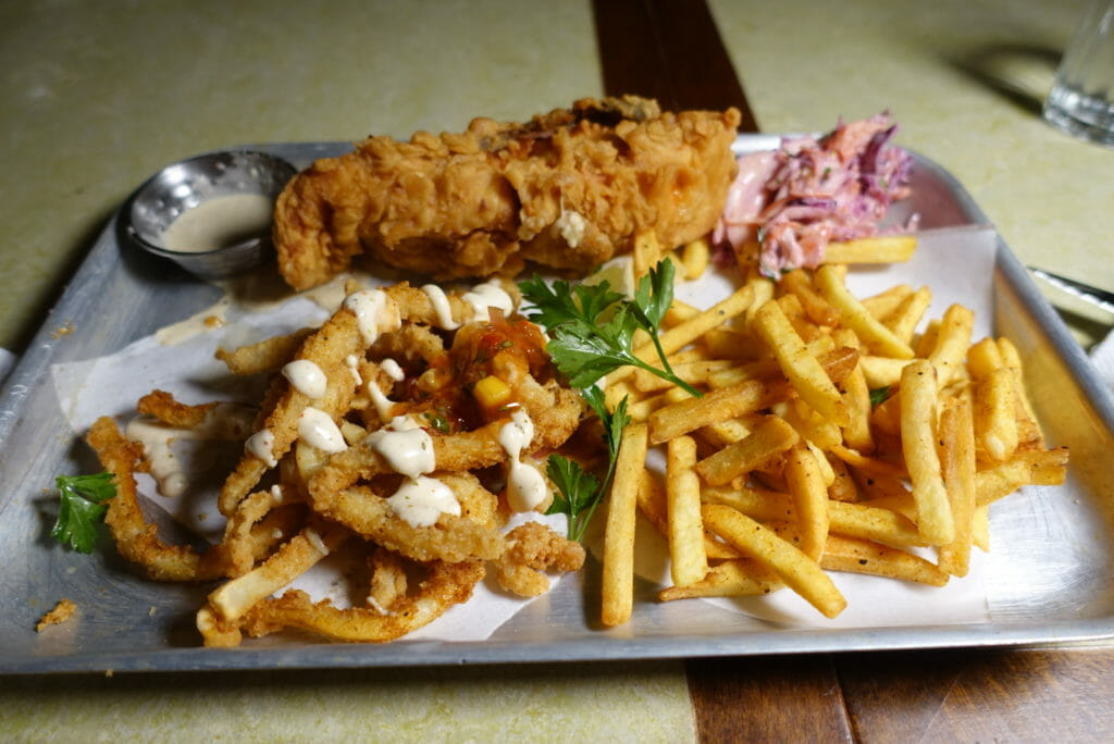 Fish fry platter
