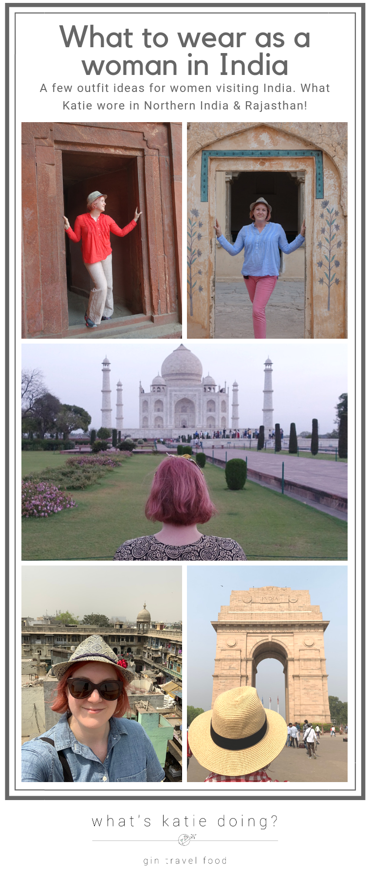 What to wear as a woman visiting India - North India and Rajasthan